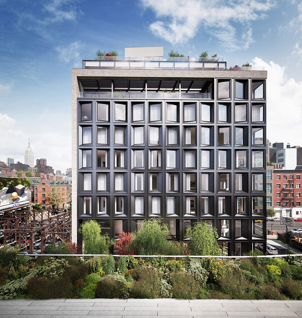 New Condos And Apartments Rise Up Around: Construction Update: High Line-Embracing Condo 505 West