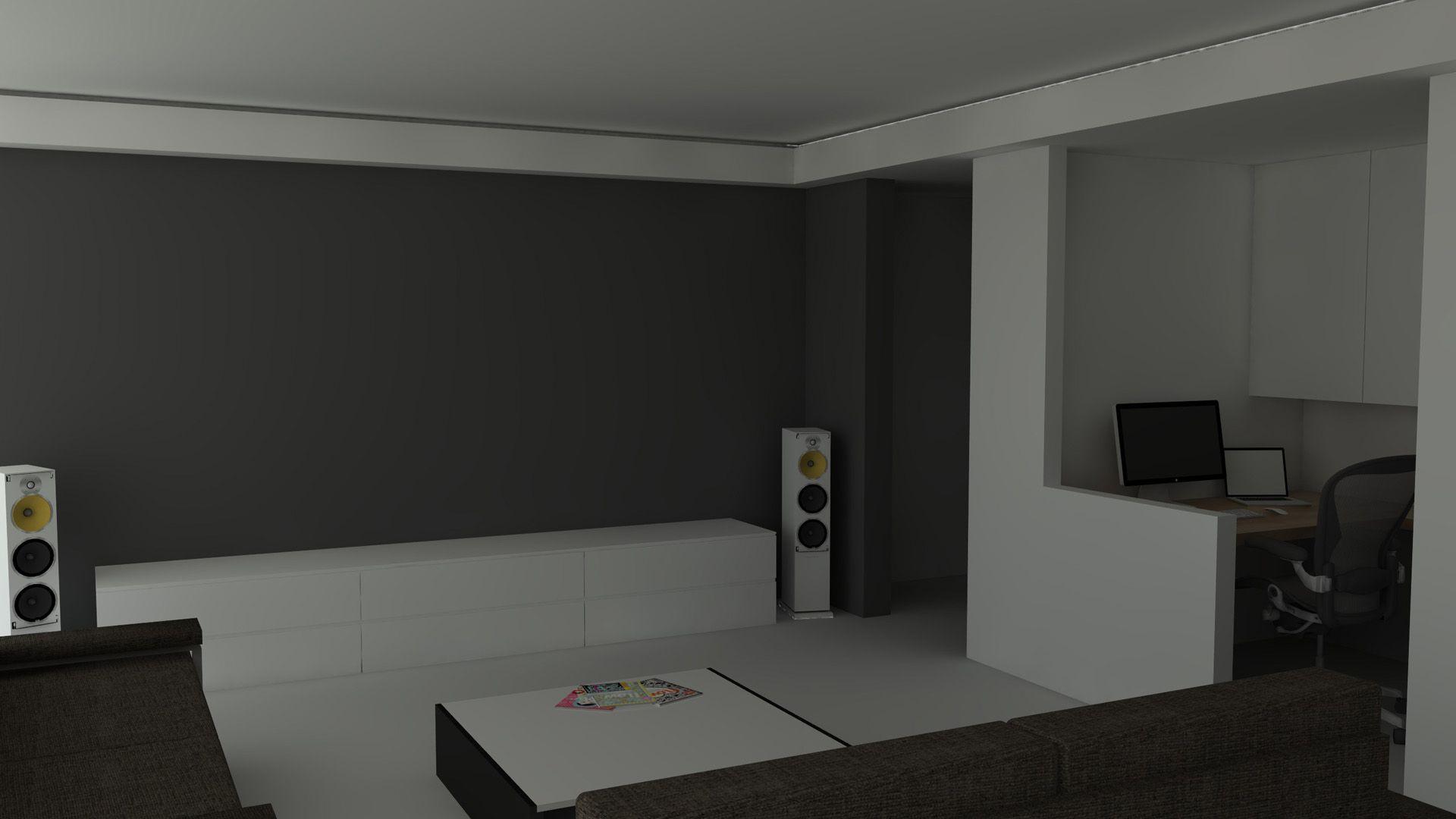 muur living bureau - Google zoeken
