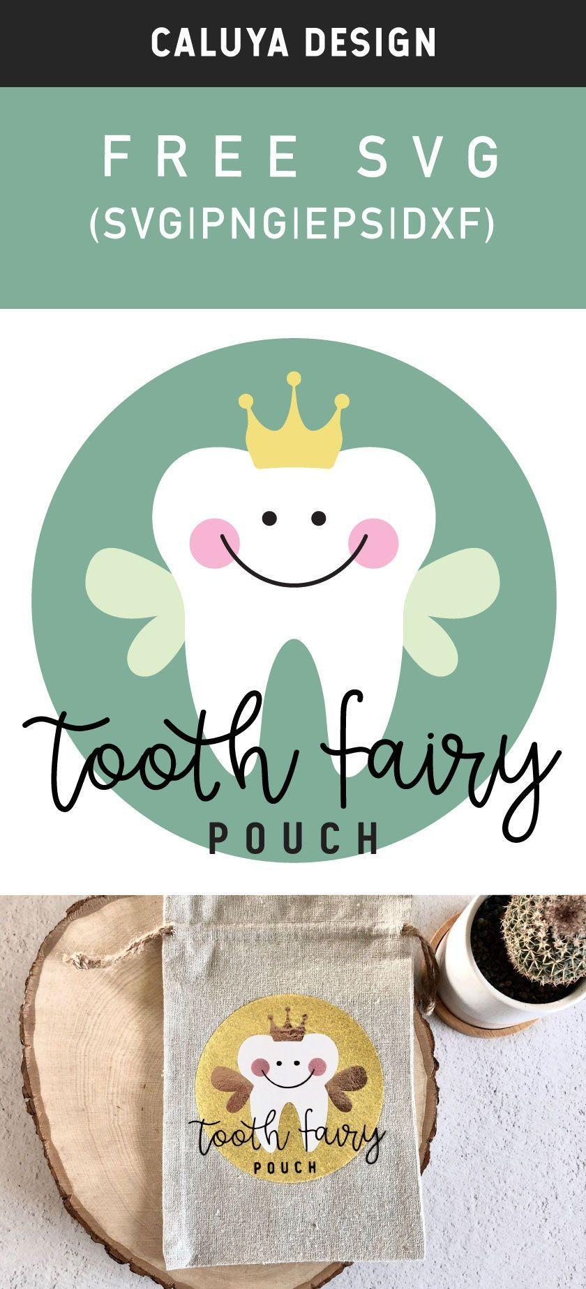 Free Tooth Fairy SVG, PNG, EPS & DXF by Caluya Des