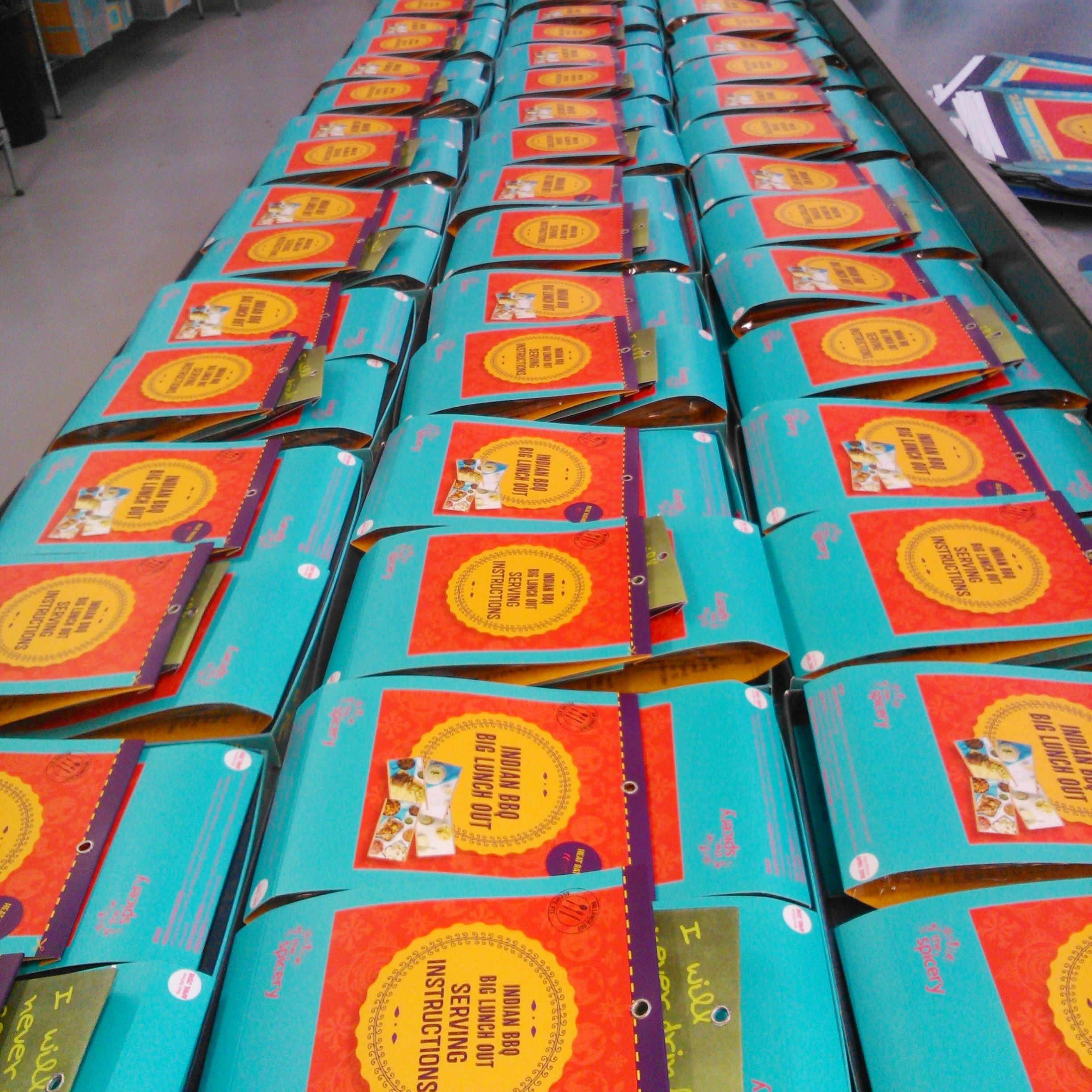 Big Indian BBQ boxes are in the production line, go go go!