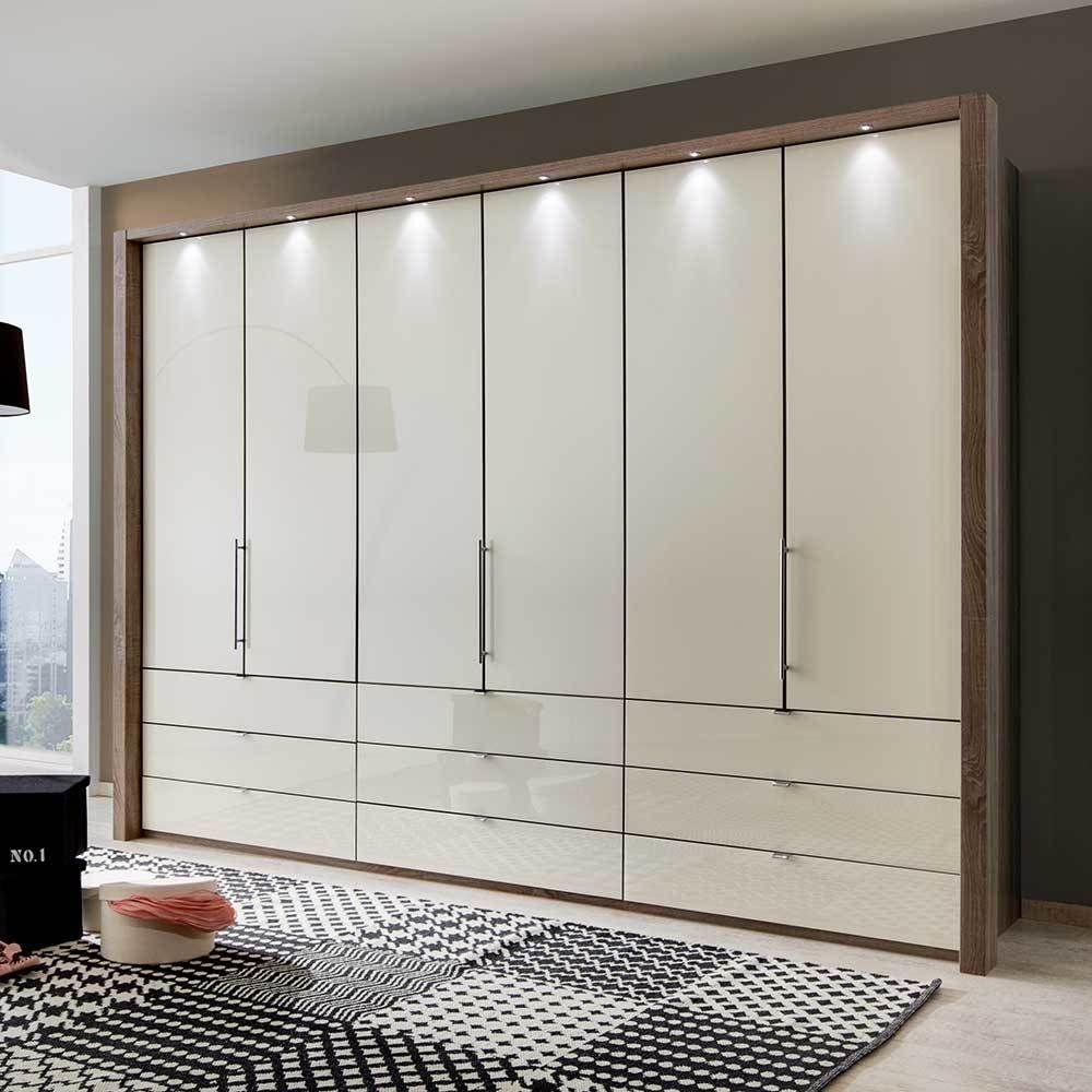 Schlafzimmerschrank Mit Falttüren Creme Weiß Jetzt Bestellen Unter: ...