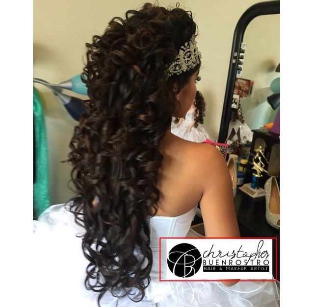 Quinceanera Hairstyles On The Side : 40 best wedding hairstyles images on pinterest