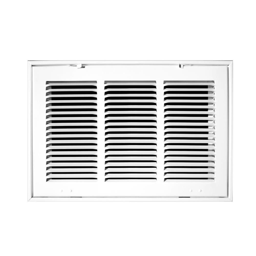 Truaire 14 In X 20 In White Return Air Filter Grille H190 14x20 Air Filter Return Air Vent Ventilation System