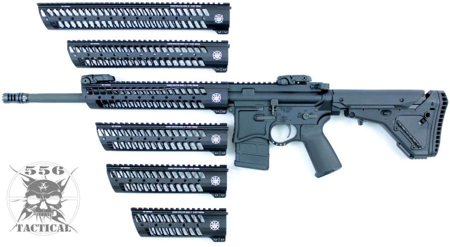 556 tacticals new evolution lightweight rail system for
