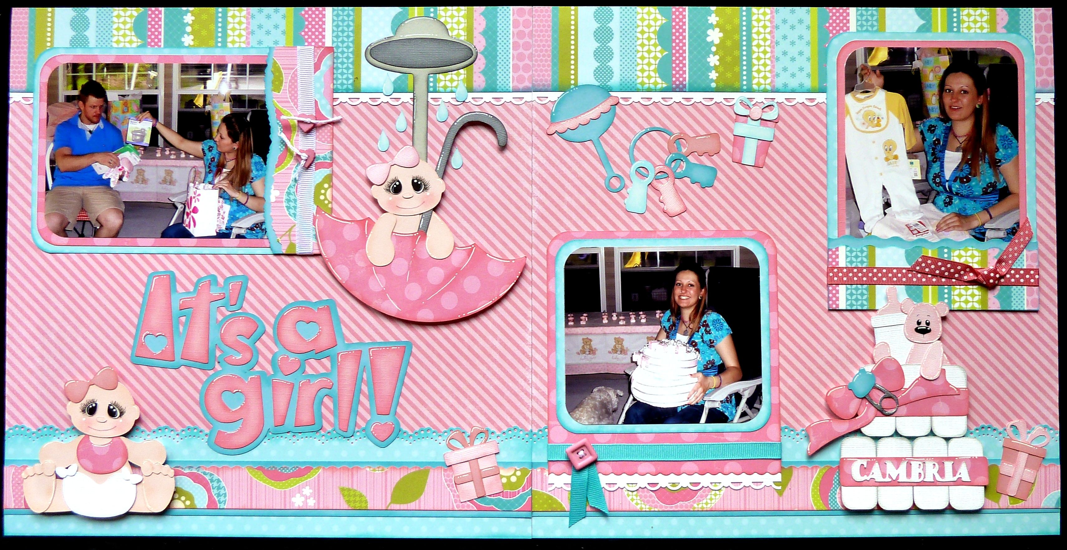 Baby Shower Scrapbook Pages Part - 18: Http://www.aleneybeany.com/wp-content/uploads/