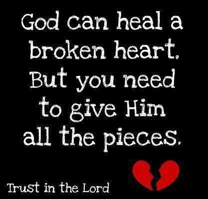 God can heal a...