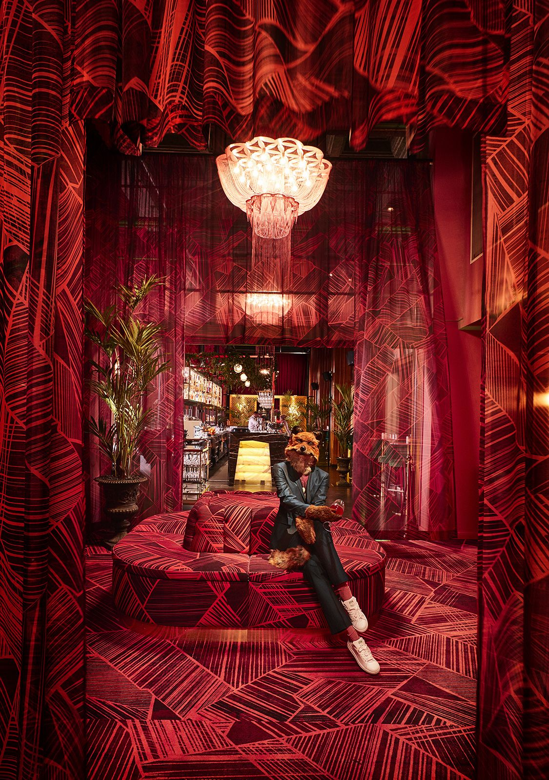 The deliciously massive pink marshmallow sofa in Gothenburg s newest  bar nightclub, Bon Bon Bar caught our attention first. It is the focal  point of the ... f5515c442ac