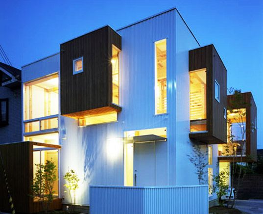 modern japanese home borrows from the past with an eco twist - Modern Japan House