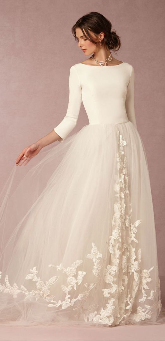 Ethereal Whimsical Modern And Unique The Type Of Diffe That Most Brides Are Looking For Maybe With A Belt Or Jeweled Sash