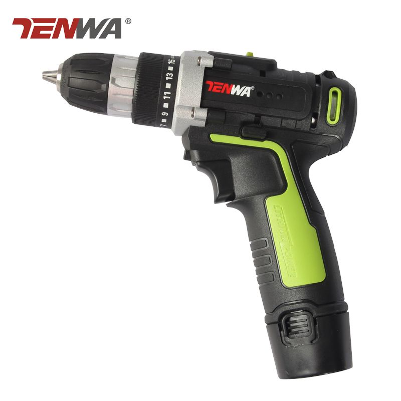 Tenwa 12v Cordless Drill Household Diy Lithium Ion Battery Cordless Drill Driver Power Drill Tool Electric Screwdrive Cordless Drill Electric Screwdriver Drill