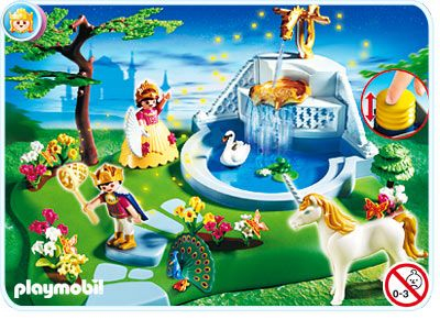 Unicorn Princess Insanity With Pump Able Water Fountain By Playmobil Awesome Kid Gift