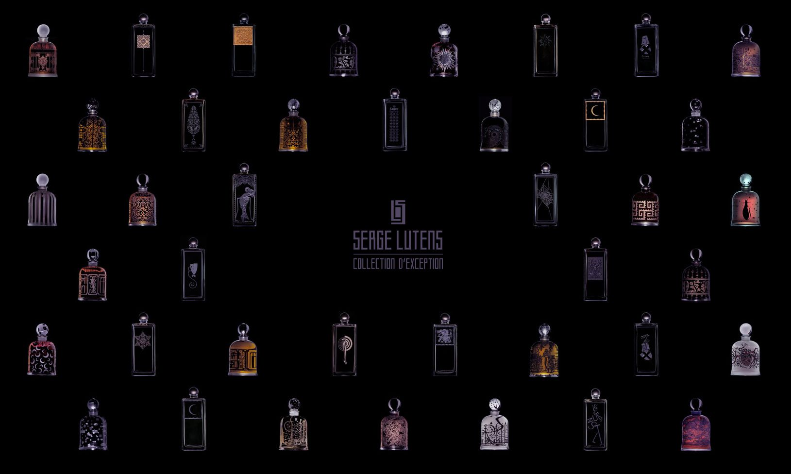 *Insert Homer Simpson drooling sound*.. Serge Lutens precious bottles. Not only is the perfume divine, the bottles are to die for!
