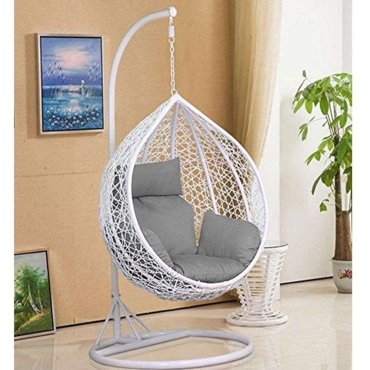 BUY Egg Shape Swing in 2020 Swing chair for bedroom