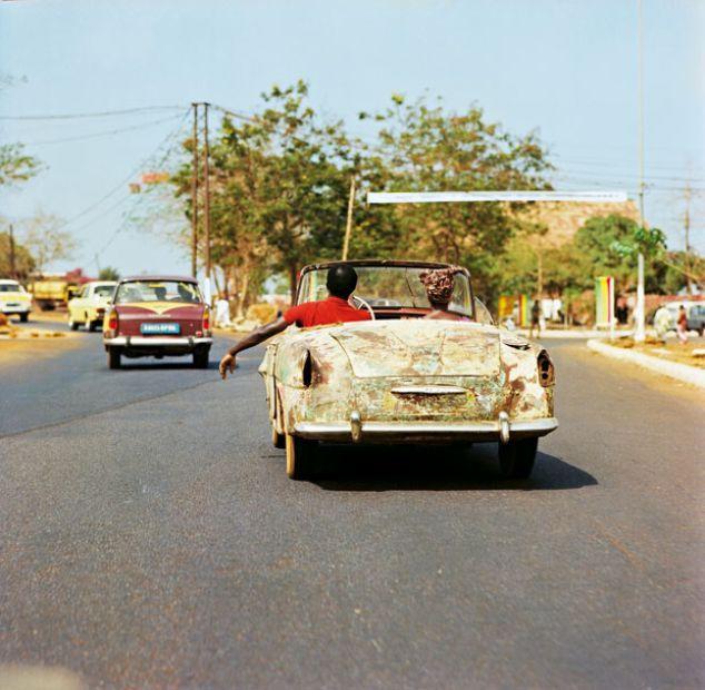 In Conakry, Hauptstadt von Guinea: fotografieren war hier nur mit Genehmigung höchster staatlicher Stellen und unter stetigen Kontrollen möglich. © Thomas Billhardt/Camera Work