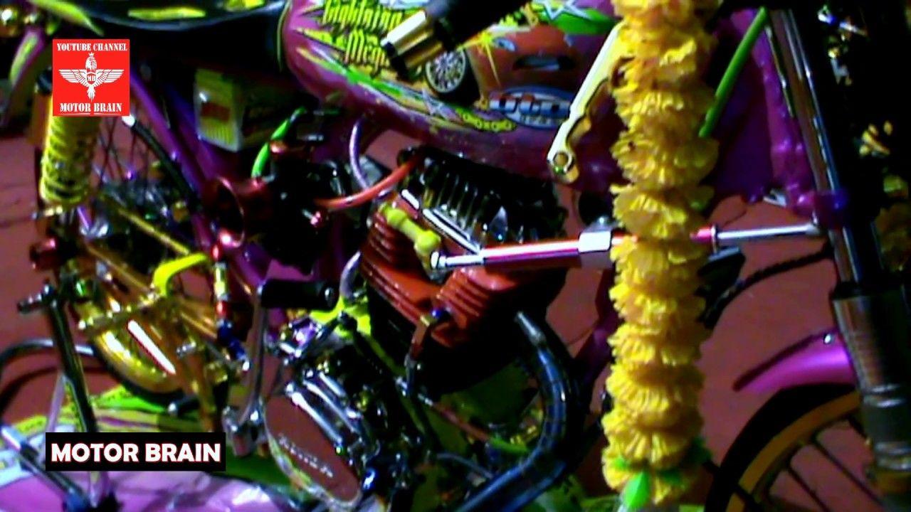 Cb Orange Modifikasi Honda Gl Kontes Gaya Herex Cb Drag Bike Foto