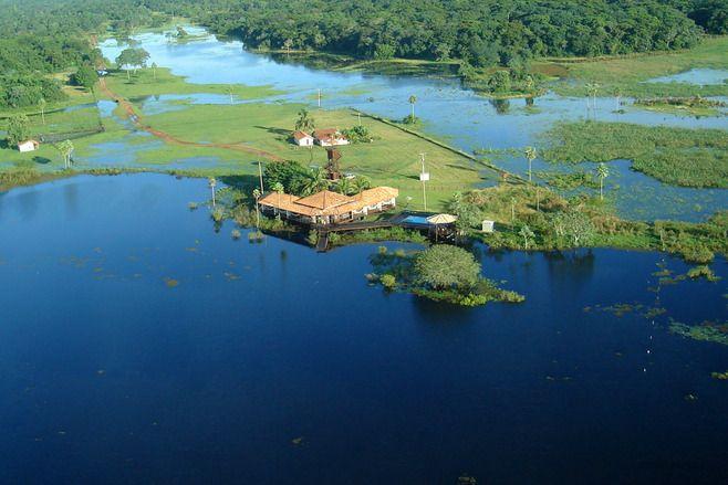 refúgio ecológico caiman, pantanal, é o nono complexo no mundo e o primeiro na américa do sul a receber certificado internacional de turismo sustentável