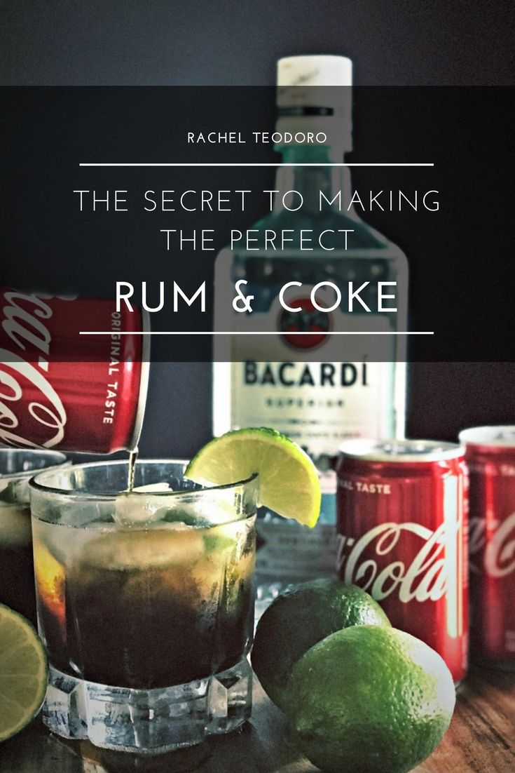 How to make the best rum and coke good rum drinks