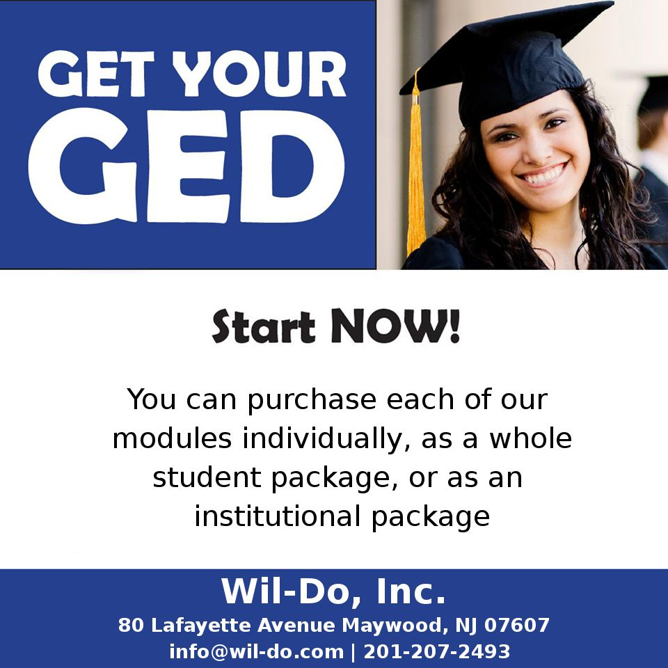 Get Your Ged Online >> Get Your Ged Now Online Student Package Newjersey