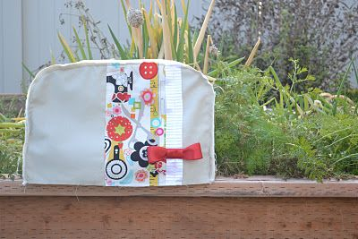 How to Make a Sewing Machine Cover - Somewhat Simple