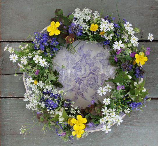 Wreath Couronne Crown hair wreath Pinterest Arreglos florales - Arreglos Florales Bonitos