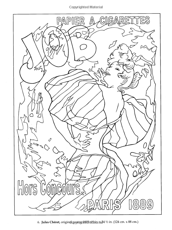 Realistic masterpiece coloring pages ~ Amazon.fr - Color Your Own Poster Masterpieces - Marty ...