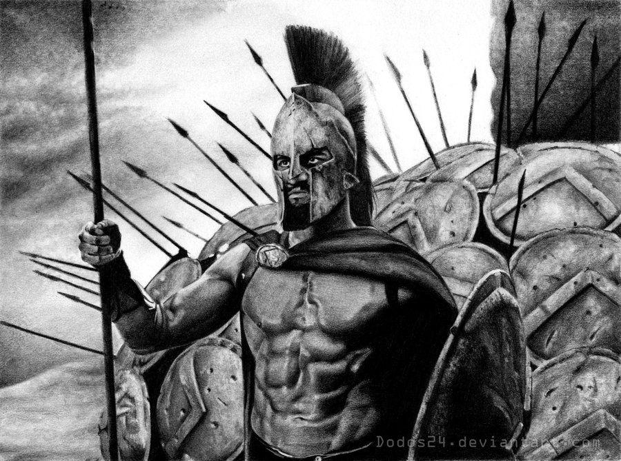 Картинки древних воинов тату