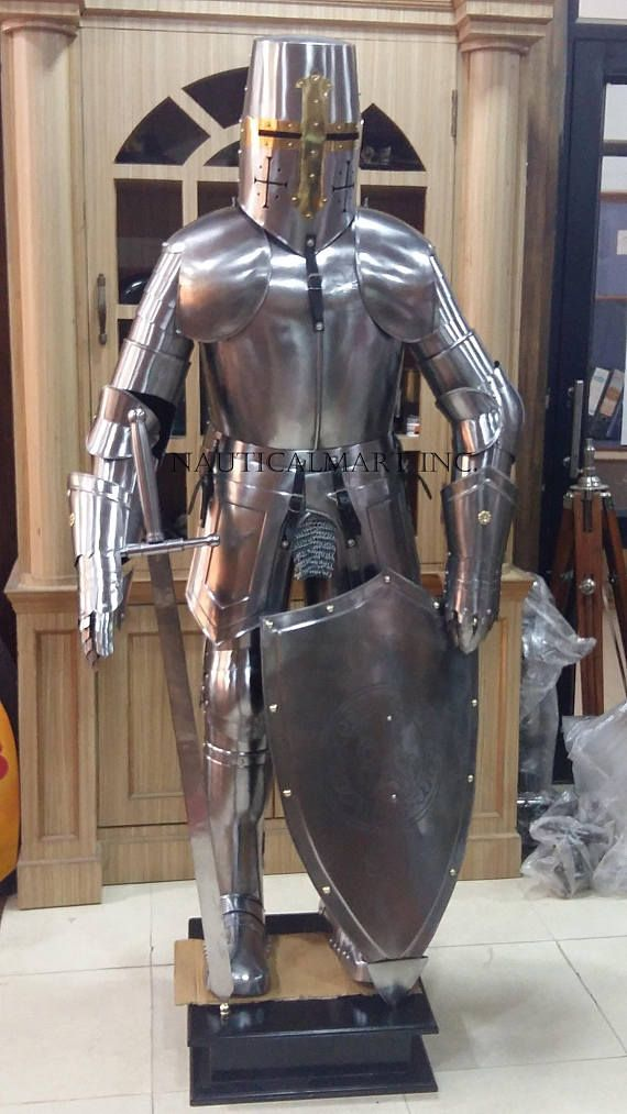 Medieval Scottish Cross Templar Suit of… | Suit of Armour , Medieval