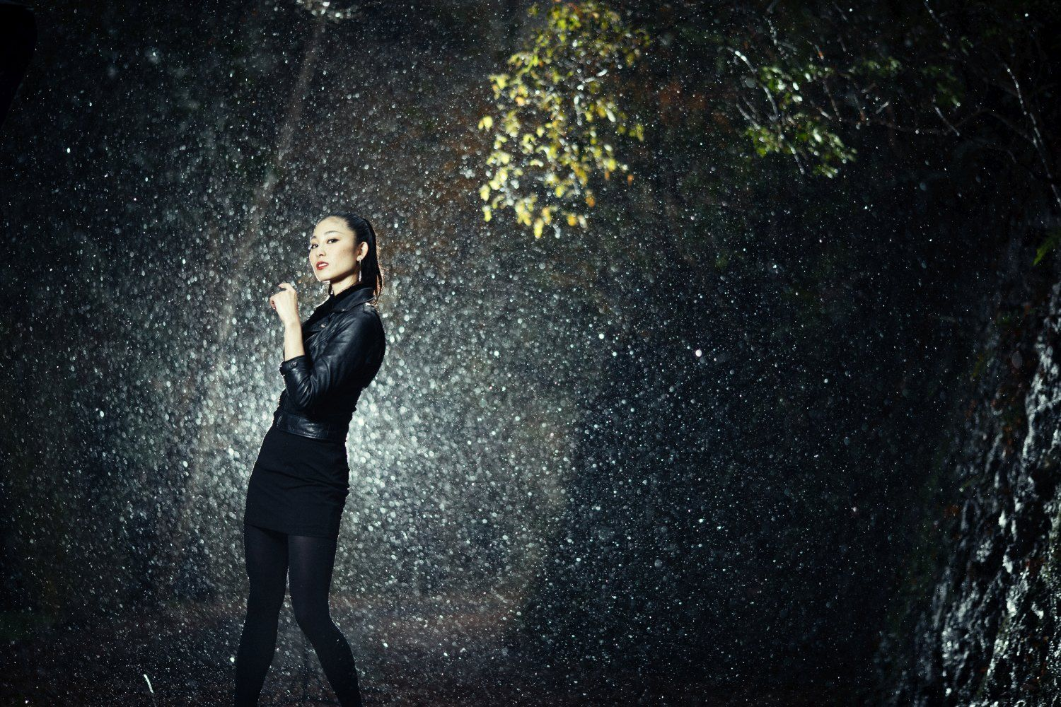 Pouring rain is your shot at spectacular portraits