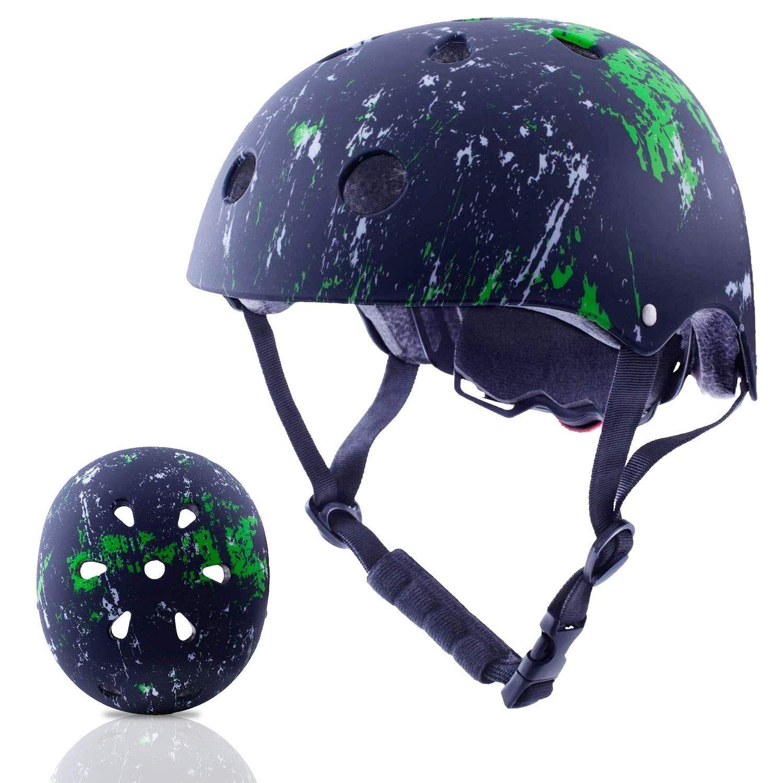 Exclusky Kids Bike Helmet 3 8 Years Boys Girls Safety