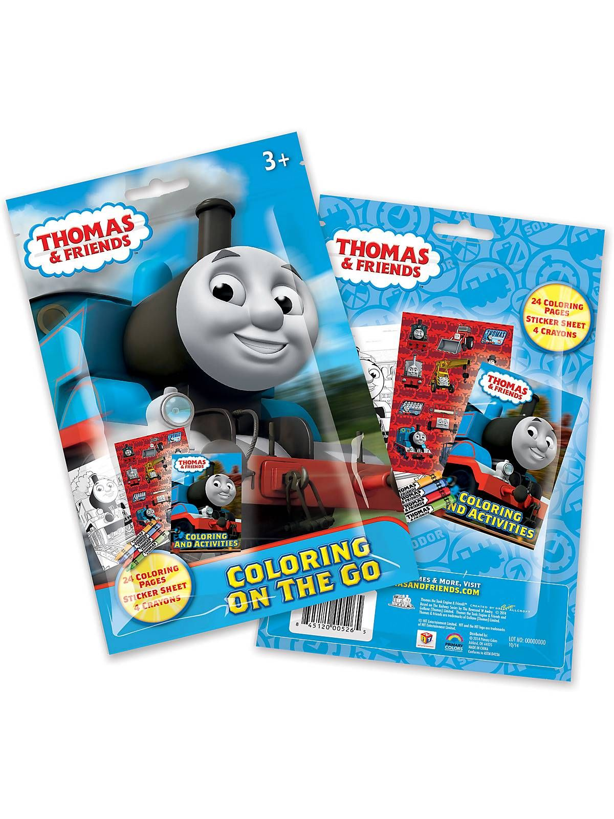 Thomas and Friends Coloring Pouch Set (Each)   Pouches, Party ...