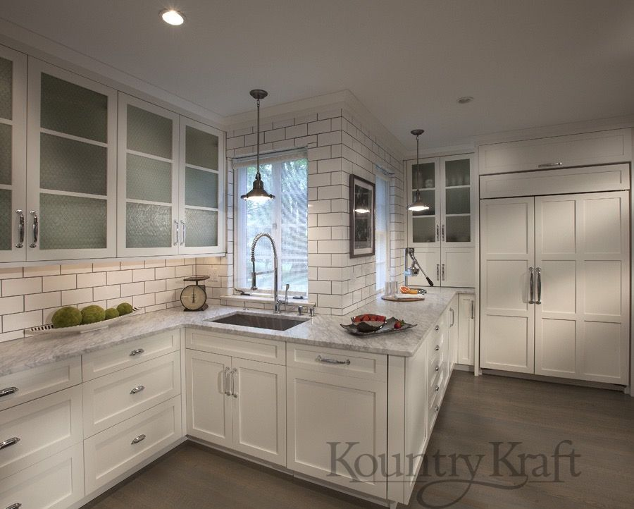 Custom Kitchen Cabinets Designed By Galen Clemmer Of Kountry Kraft, Inc.  This Industrial Style