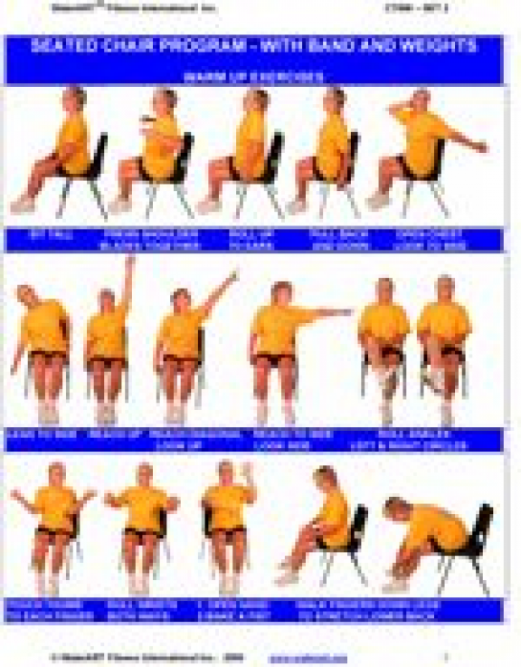 Chair Exercises For Seniors Bing Images Mobilityexercises In 2020 Senior Fitness Exercise Chair Exercises