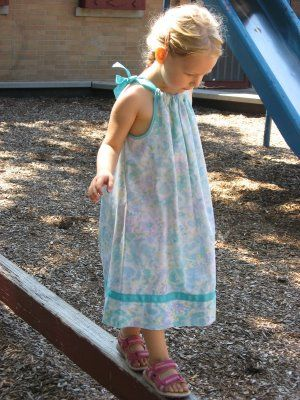 Martha Pillowcase Dress S Pumpkin Sewing Learn How To Sew