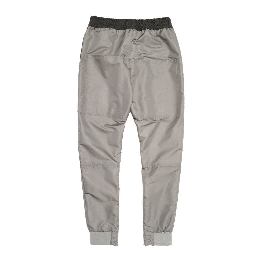 Infinite Stamped Gray Track Pants