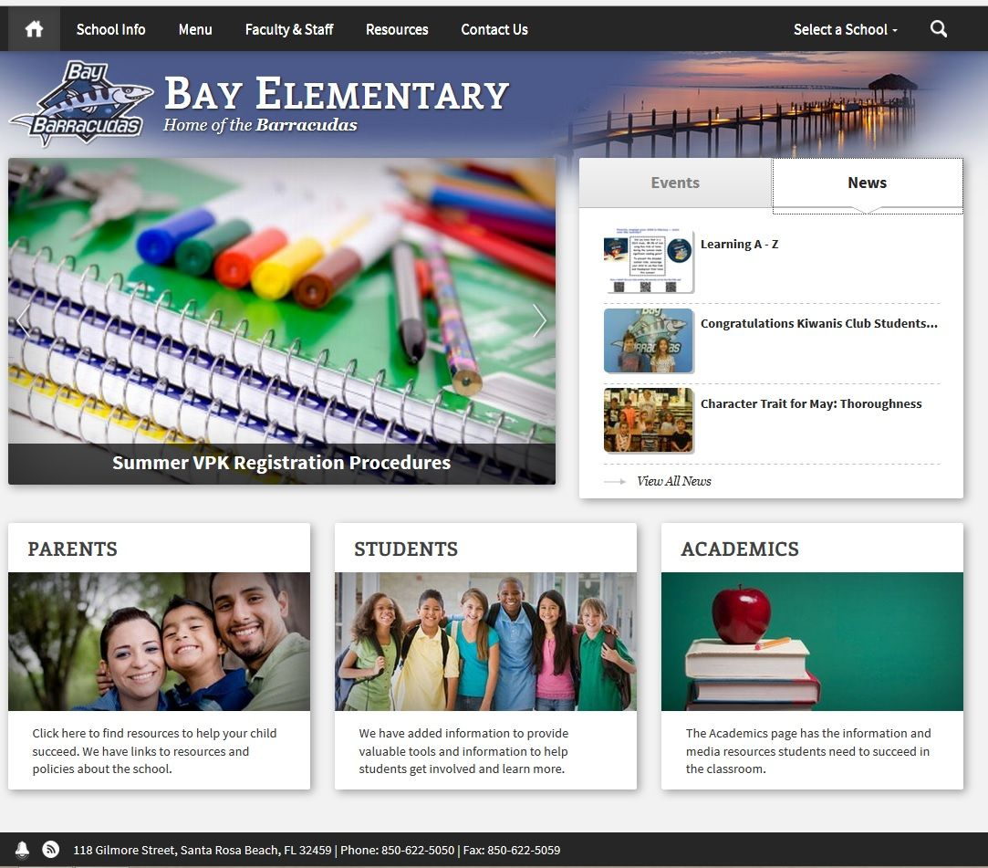 Bay Elementary is the oldest school still in operation in
