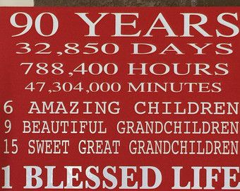 80 Year Old Birthday Wood Sign... Can Be by CreativeSignsByTal