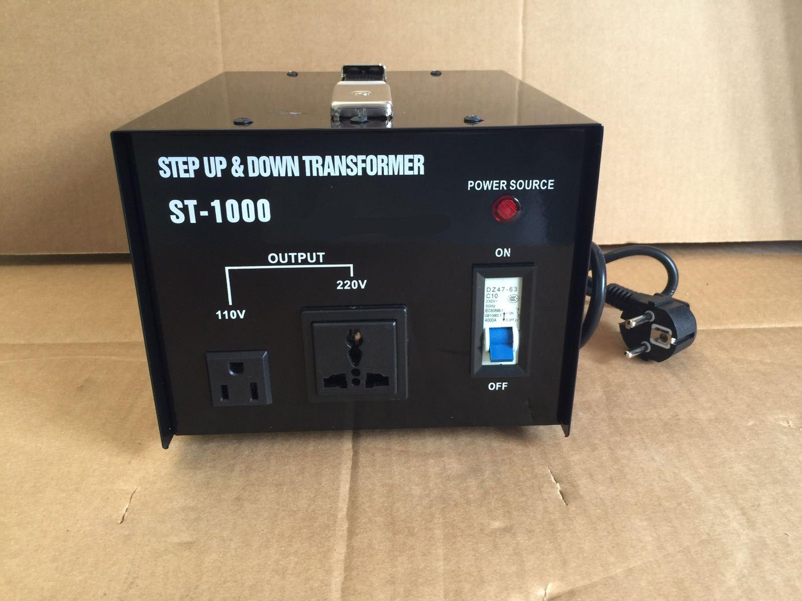 PVTC3000U Step Up and Down 3000 W Voltage Converter Transformer AC 110//220V