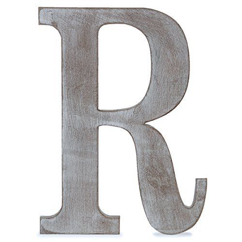 The Lucky Clover Trading R Wood Block Letter  L C  Https
