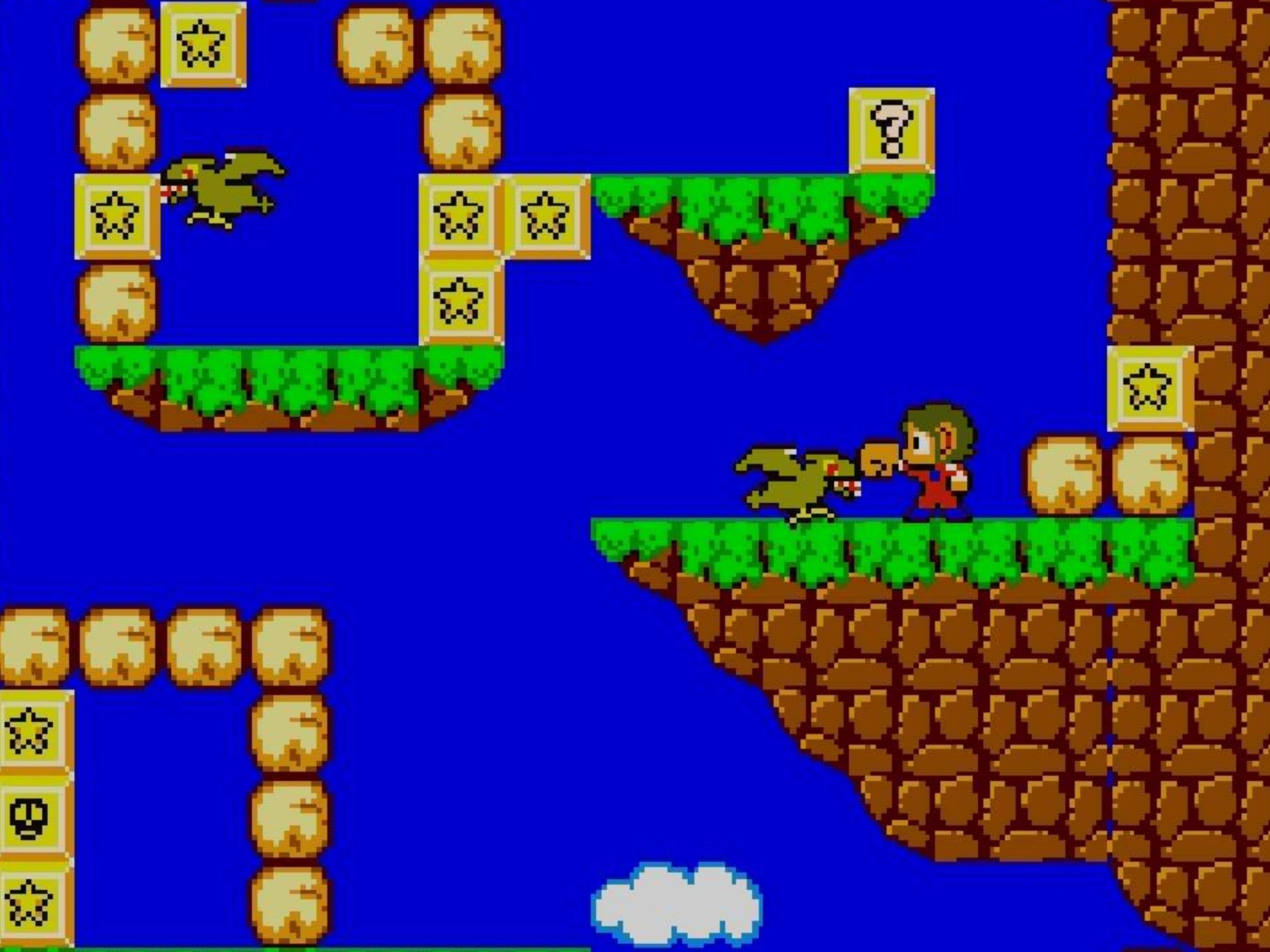 Master System Favourites Alex Kidd In Miracle World Alex Kidd