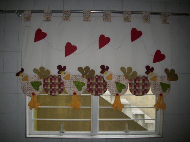 Cortinas pepi felguera pinterest patchwork - Ideas cortinas cocina ...