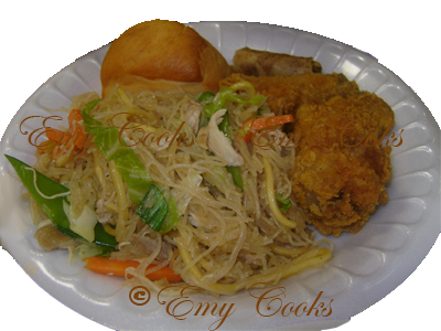 Emy Cooks: Pancit - Filipino's traditional food - Comida tradicional de los Filipinos #meal