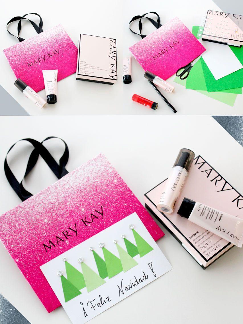 Idea Para Envolver Regalos De Navidad Mary Kay Manualidades  ~ Ideas Para Regalar En Navidad Manualidades