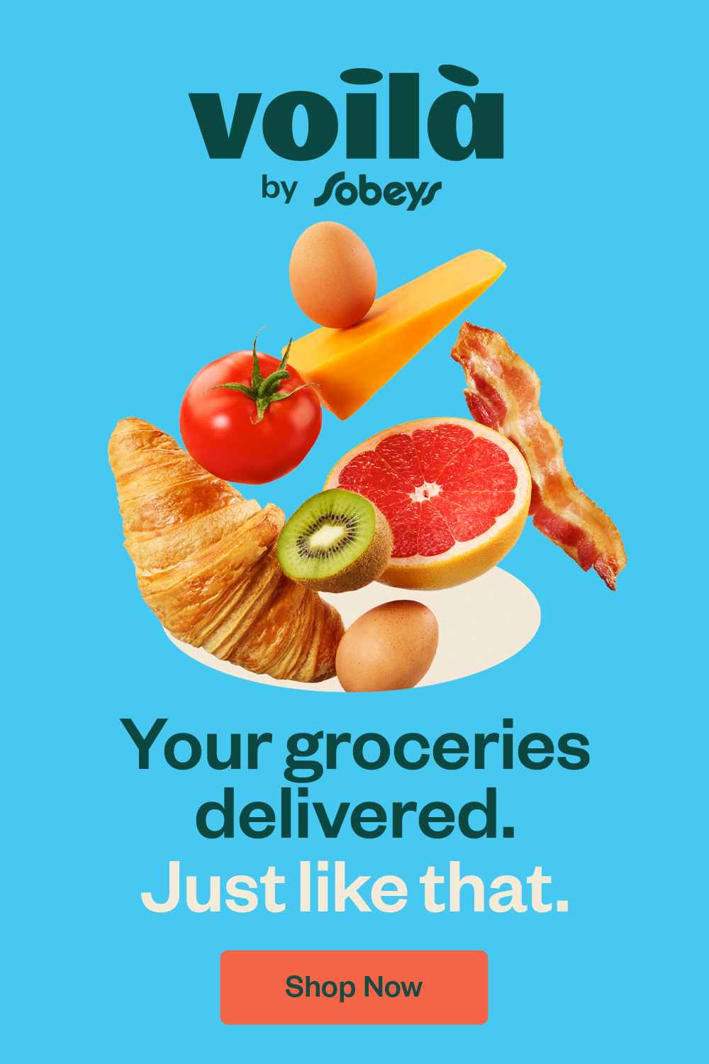 Voilà by Sobeys in 2020 Delivery groceries, Grocery