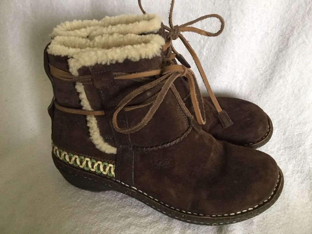 c5a774af9f5a UGG Australia Cove Ankle Boots Espresso Brown Style 5178 Women s Size 9   fashion  clothing  shoes  accessories  womensshoes  boots (ebay link)