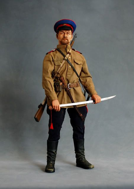 Ww2 1 6 Russian Cossack Officer Action Figures Ww2 Military