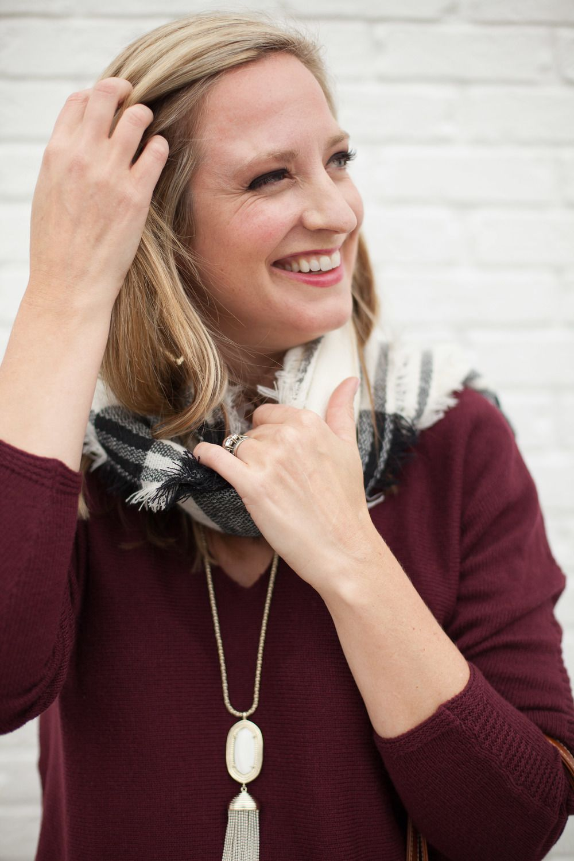 scarf happy — Edit By Lauren