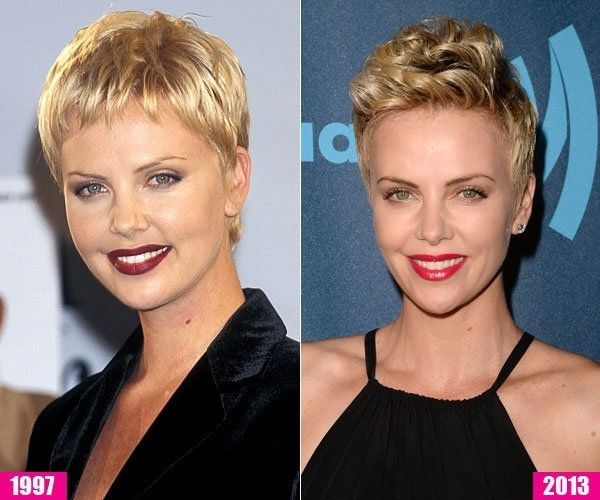 Charlize Theron In 2020 Short Hair Styles Charlize Theron Short Hair Little Girl Haircuts