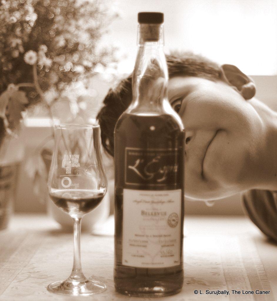 L Esprit Bellevue 1998 12 Year Old Guadeloupe Rhum Review Macallan Whiskey Bottle Wine Bottle Rum