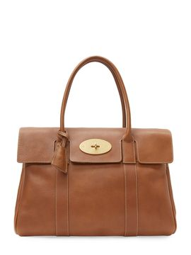 c841c69d01 Bayswater Large Leather Satchel by Mulberry