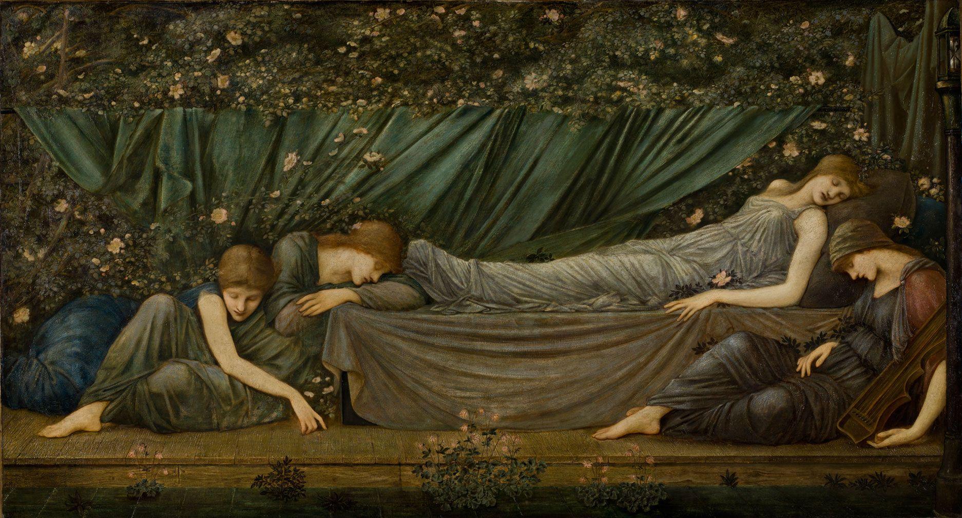 The Sleeping Beauty , Edward Burne-Jones